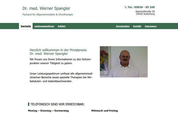 Privatpraxis Dr. med. Werner Spangler