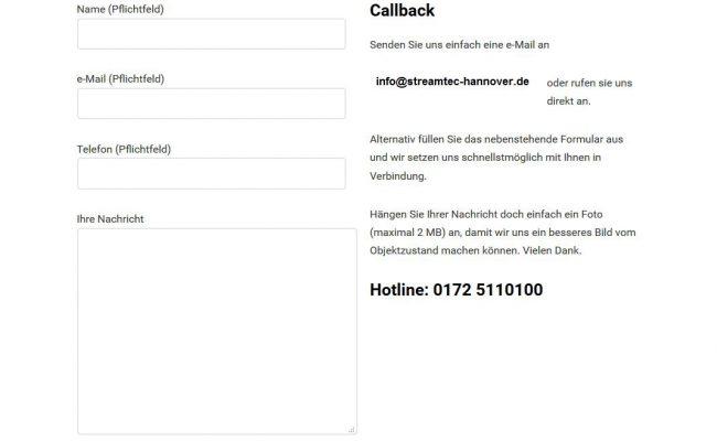 2016-stream-tec-hannover-wordpress-feinstrahlen-sandstrahlen-internetseite-kontaktformular