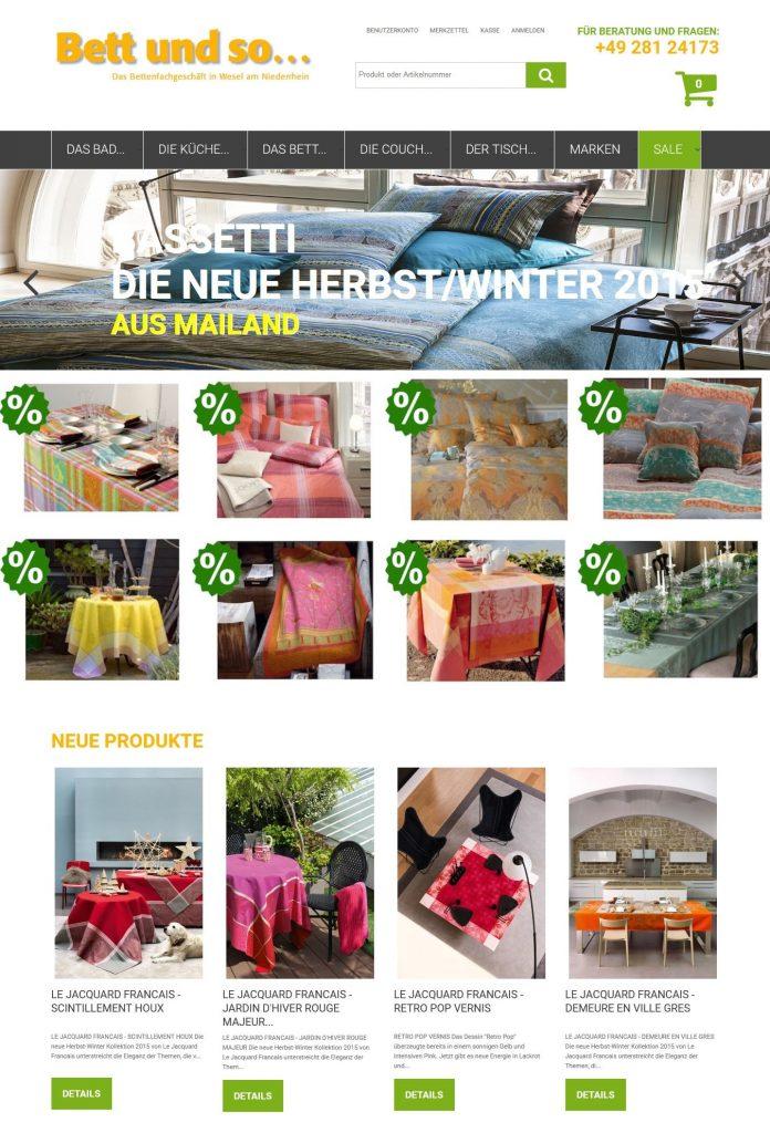 Magento Online Shop