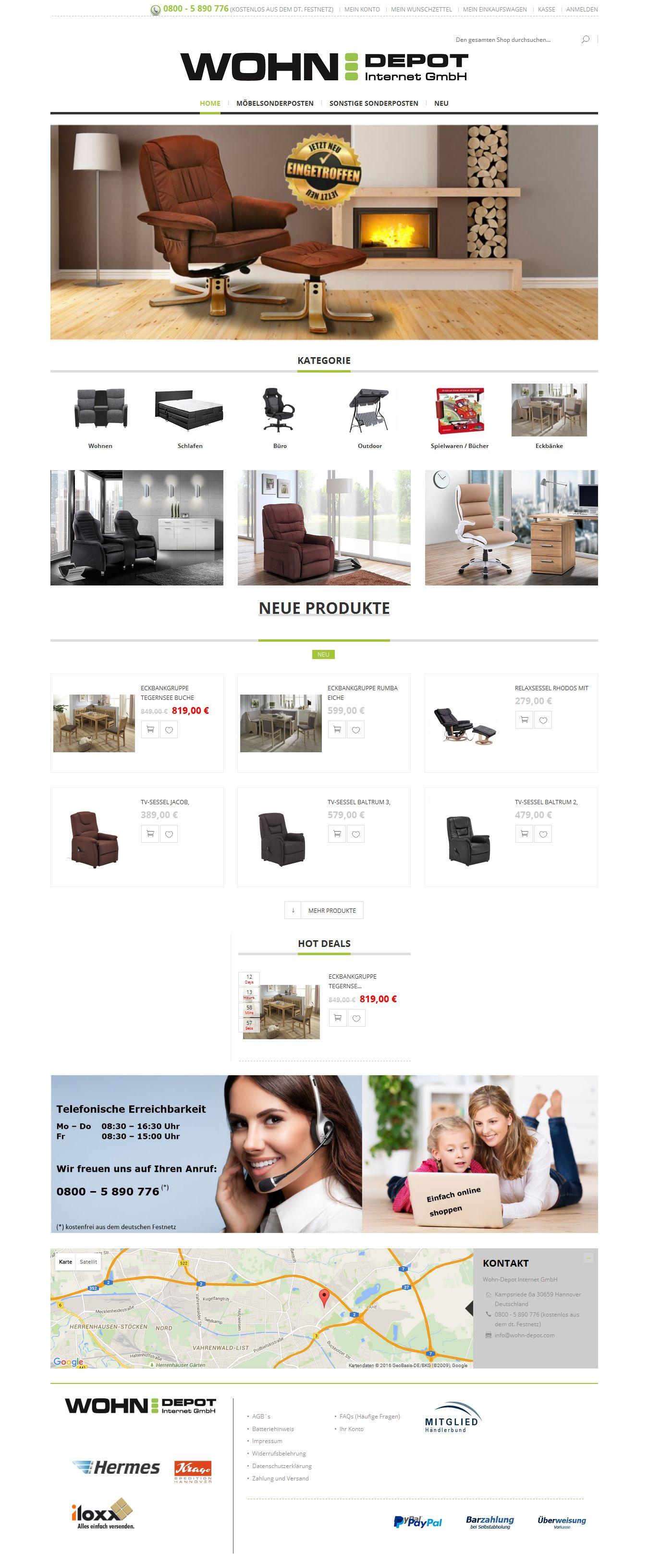 magento shop online mehr erfolg online. Black Bedroom Furniture Sets. Home Design Ideas