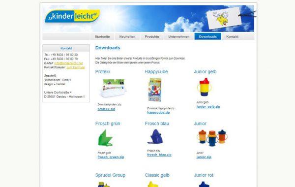 """""""kinderleicht"""" GmbH design + handel"""