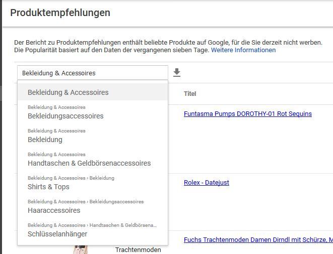 SEO-Tipps-google-merchant-account-hohe-nachfrage-bekleidung