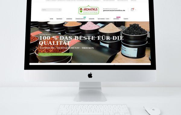 Aromatikus.de – Gewürz Online Shop