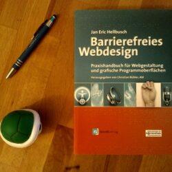 Barrierefreies Webdesign – Jan Erc Hellbusch – Buch für Internetseiten und Online Shops