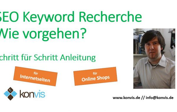 Video-Anleitung Keyword Recherche