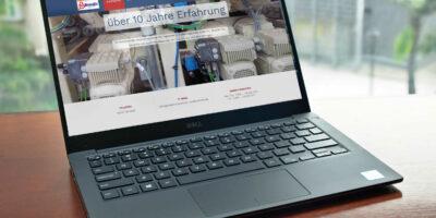 Internetseite für Handwerker – Beispiel Homepage für Elektriker