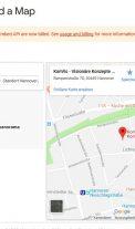 Einfache Einbindung einer google Maps Karte in eine Internetseite oder Shop