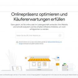 Grow My Store von Think with Google – neues online Tool für Vorschläge zur Verbesserung des eigenen Shops