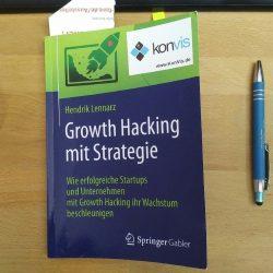 Buchempfehlung – Growth Hacking mit Strategie von Hendrik Lennarz, Springer Gabler