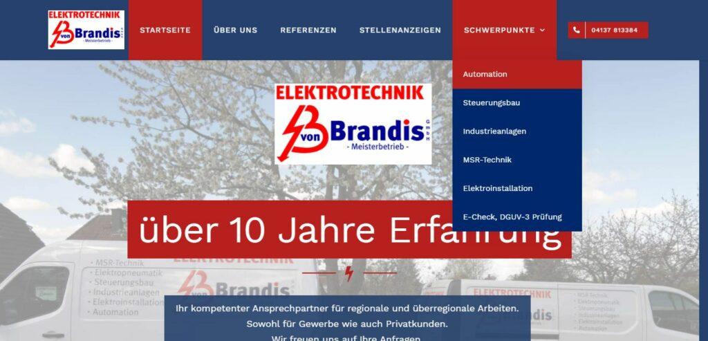 Internetseite Elektriker