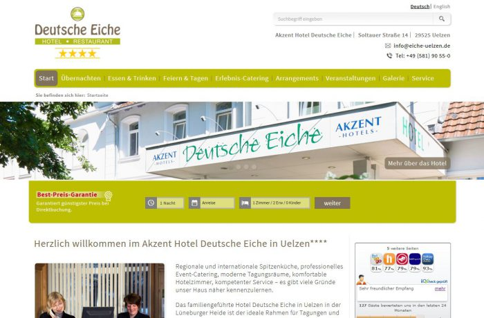 Akzent Hotel Deutsche Eiche ****