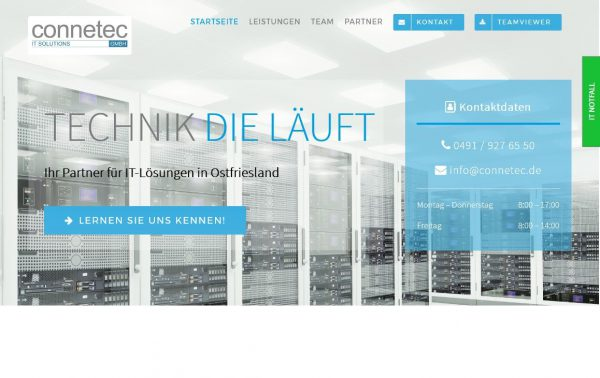 Connetec GmbH – IT-Systemhaus in Leer