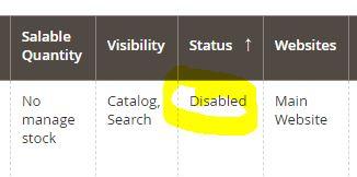 Lösung Magento 2 – vermeintliche Bug – Übersicht im Admin Kategoriebereich zeigt falschen Status an