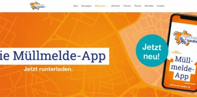 Tolles Beispiel für Digitalisierung – Müllmelde App – Aha, Hannover und Üstra – Digitalsierung Verwaltung und Kommunen
