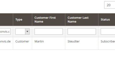 """Magento 2 Fehler – """"Newsletter Abmeldung erfolgreich"""" Mail bei Kundenkonto Erstellung – Keine Anmeldung an Newsletter im Online Shop möglich"""