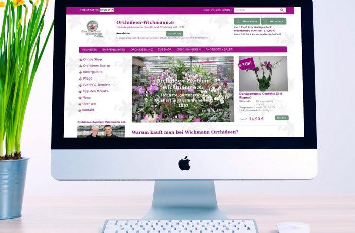 Orchideen Zentrum Wichmann e.K. (Relaunch)