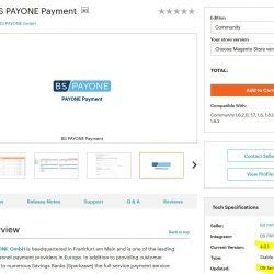 Warnung Payone Magento Erweiterung – in Magento Connect ist die falsche