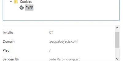 Cookie Verordnung: Magento 1.9 den Cookie Paypalobjects.com entfernen