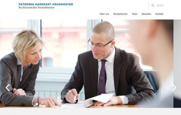 PETERSEN HARDRAHT PRUGGMAYER Rechtsanwälte Steuerberater Partnerschaft mit beschränkter Berufshaftung