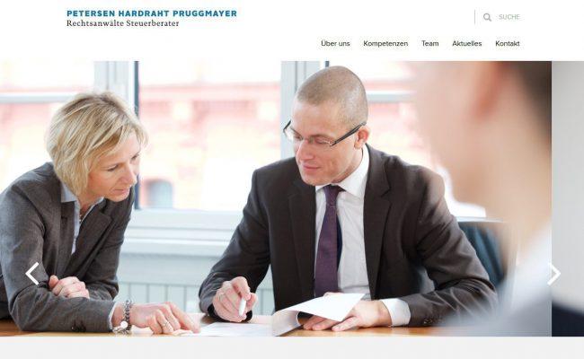 petersen-hardraht-pruggmayer-internetseite-steuerberater-rechtsanwalt-startseite
