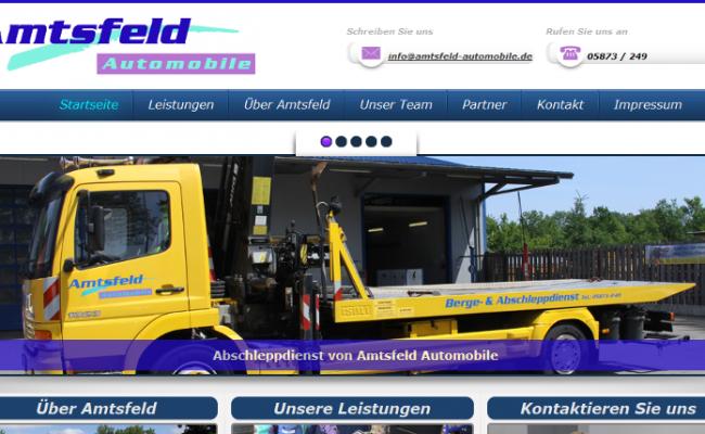referenz-internetseite-Amtsfeld Automobile – www_amtsfeld-automobile_de Website Erstellung Tankstelle-header