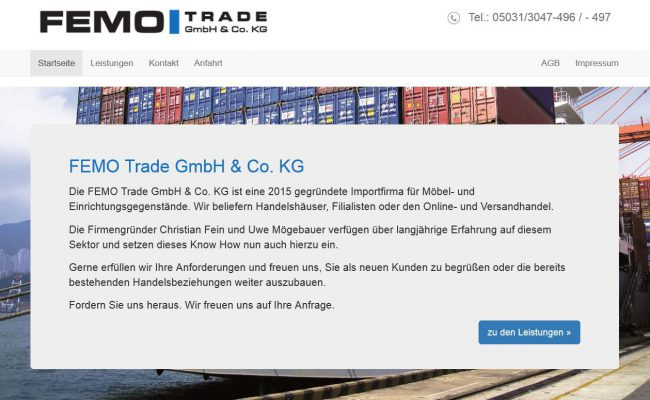 referenz-internetseite-femo-trade-hannover