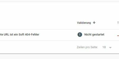 Google Search Console – Soft 404 Fehler vs echter 404 Fehler in WordPress, Magento oder Shopware