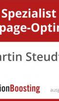 Zertifizierung zum Spezialist Landingpage-Optimierung abgeschlossen