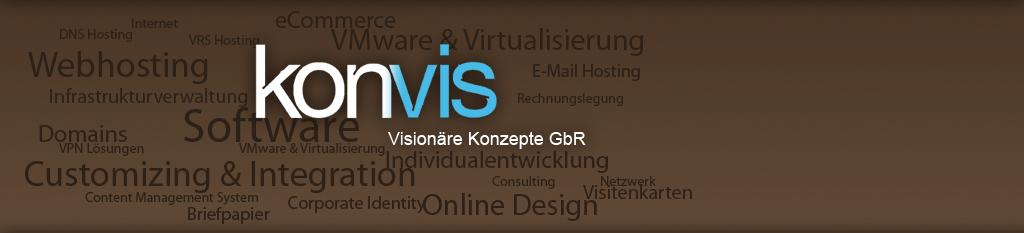 Neue Internetseite von KonVis online