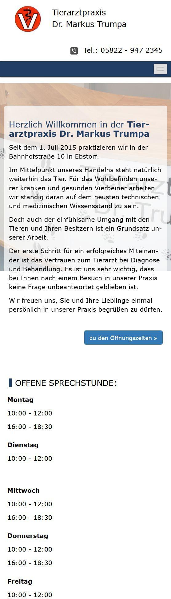 tierarztpraxis-trumpa-internetseite-ebstorf-responsive-mobile