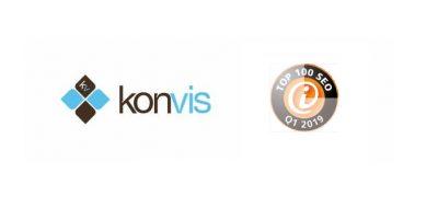 KonVis ist auch Q1/2019 wieder Top 100 SEO-Dienstleister