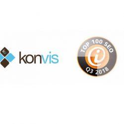 Agentur KonVis nun auch offiziell – Top 100 SEO-Dienstleister Q3/2018