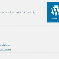 WordPress Update 4.9.4