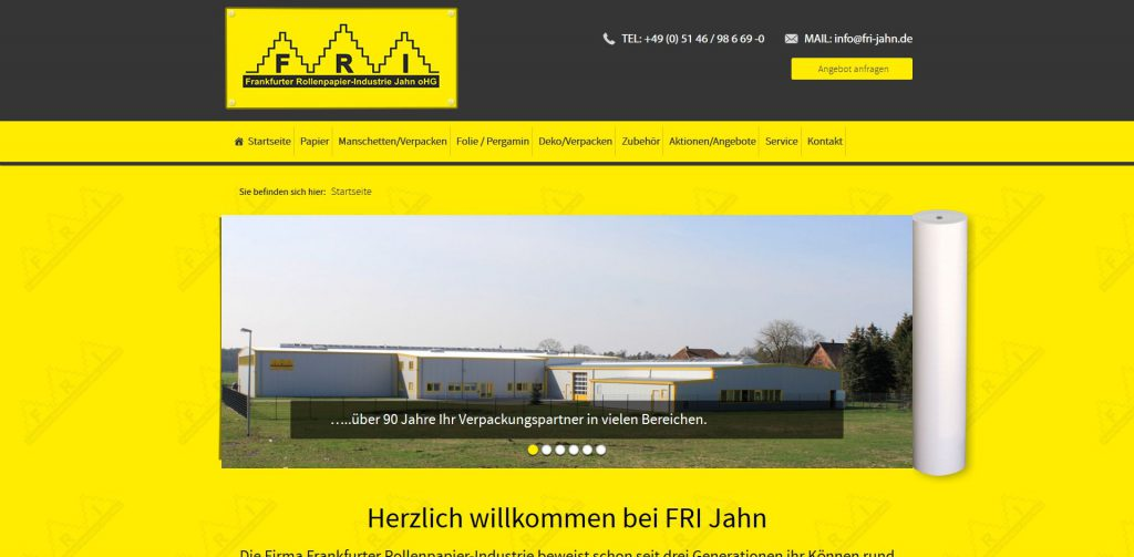 wordpress-interenetseite-fri-jahn-papier