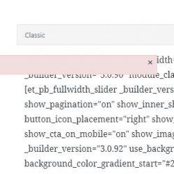 """WordPress Hilfe: Fehlermeldung """"Failed to initialize plugin: et_quicktags"""" WordPress und Plugin Divi Builder"""
